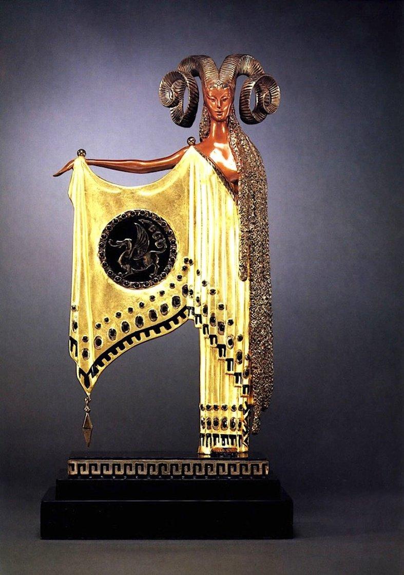 Golden Fleece Bronze Sculpture Sculpture by  Erte