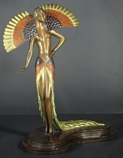 Ibis Bronze Sculpture Sculpture by  Erte