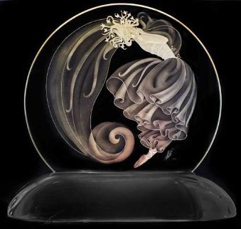 Luminaire Glass Sculpture 15 in Sculpture -  Erte