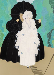 Debutante 1985 Limited Edition Print by  Erte
