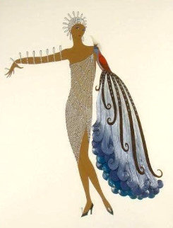 Diva 1983 Limited Edition Print -  Erte