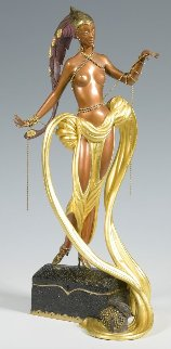Pleasure of the Courtesan Bronze Sculpture AP 1990 19 in Sculpture -  Erte