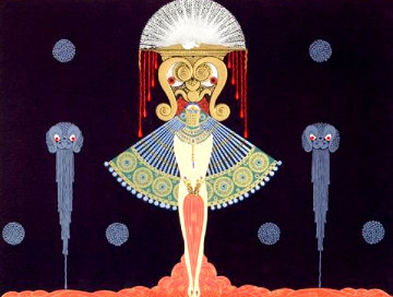 Salome AP Limited Edition Print by  Erte