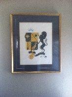 Zodiac Suite: Leo 1982 Limited Edition Print by  Erte - 1