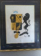 Zodiac Suite: Leo 1982 Limited Edition Print by  Erte - 2