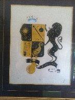 Zodiac Suite: Leo 1982 Limited Edition Print by  Erte - 3
