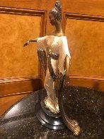 Negligee Bronze Sculpture 1984 17 in Sculpture by  Erte - 2