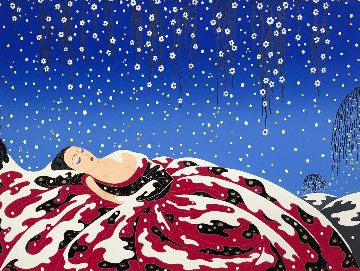 Sleeping Beauty 1983 Limited Edition Print -  Erte