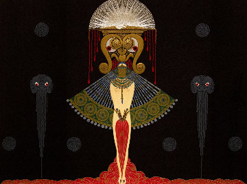 Salome 1981 Limited Edition Print -  Erte