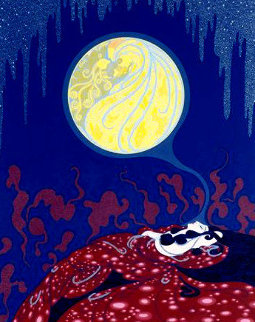 Earth's Dream: Twenties Remembered Again Suite 1978 Limited Edition Print by  Erte