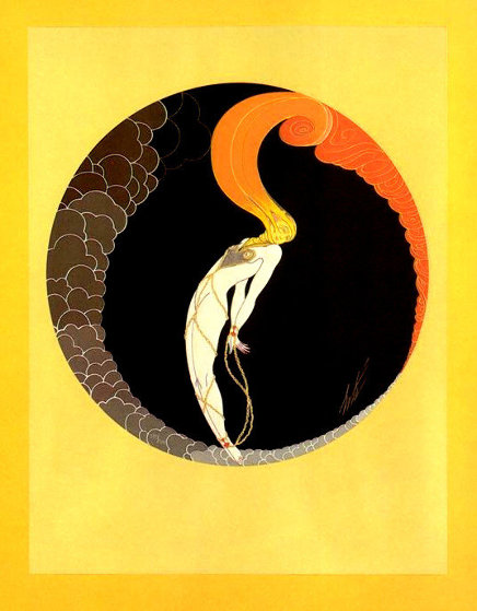 Four Emotions 1982: Suite of 4 Limited Edition Print by  Erte