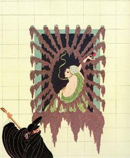 La Serenade 1979 Limited Edition Print by  Erte