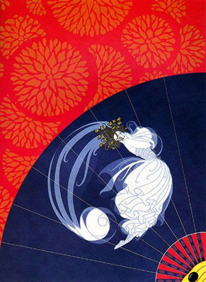 Legerete: Twenties Remembered Again Suite 1978 Limited Edition Print by  Erte