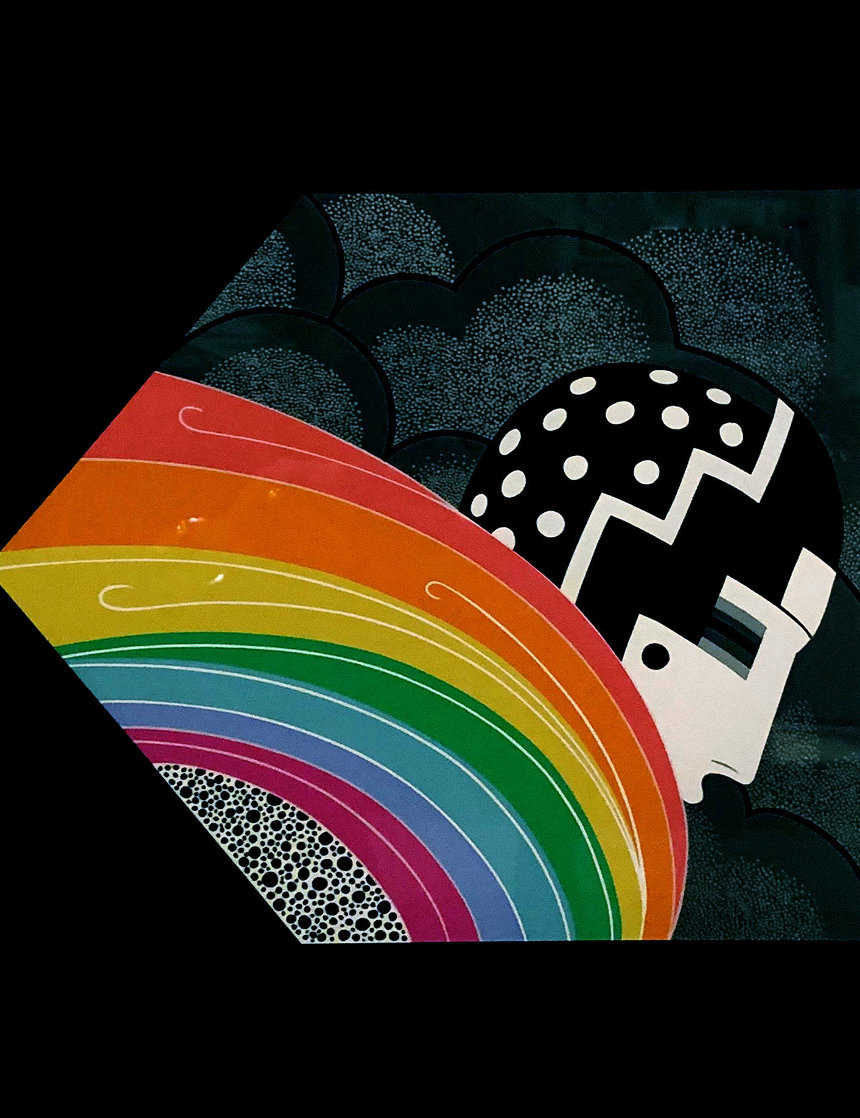 Tempest: Twenties Remembered Again Suite 1978 Limited Edition Print by  Erte