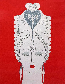 Amouruse: Twenties Remembered Again 1978 Limited Edition Print by  Erte