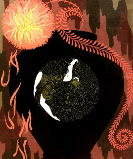 Autumn Song: Twenties Remembered Again Suite 1978 Limited Edition Print by  Erte