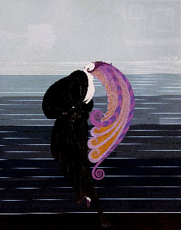 Beauty and the Beast: Twenties Remembered Again Suite 1978 Limited Edition Print by  Erte