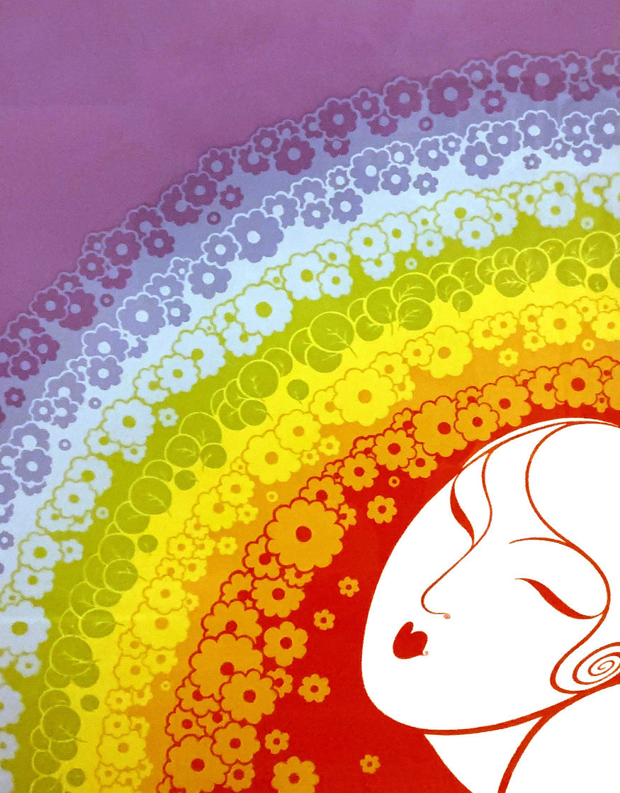 Rainbow in Blossom: Twenties Remembered Again Suite 1978 Limited Edition Print by  Erte