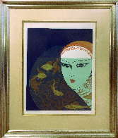 Fishbowl: Twenties Remembered Again Suite 1978 Limited Edition Print by  Erte - 1
