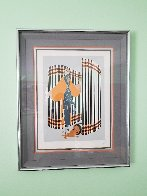 Coquette 1981 Limited Edition Print by  Erte - 2
