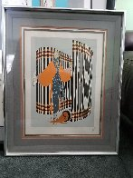 Coquette 1981 Limited Edition Print by  Erte - 1