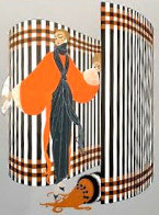 Coquette 1981 Limited Edition Print by  Erte - 3