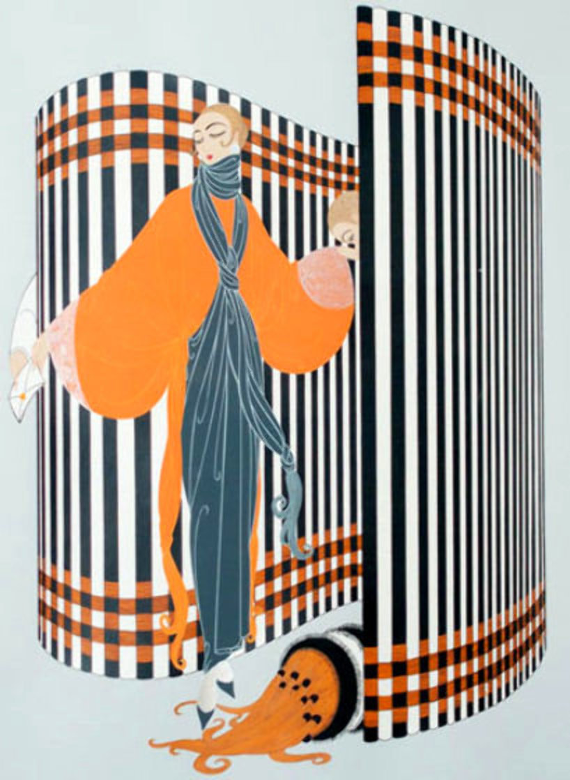 Coquette 1981 Limited Edition Print by  Erte