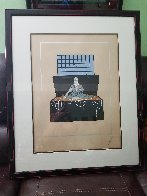 7 Deadly Sins : Avarice AP 1980 Limited Edition Print by  Erte - 1