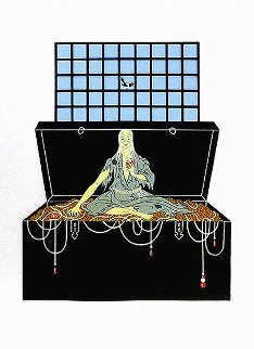 7 Deadly Sins : Avarice AP 1980 Limited Edition Print -  Erte