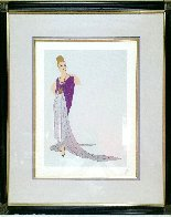 At the Ball AP Limited Edition Print by  Erte - 1
