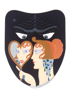 Complete Suite of Seven Deadly Sins 1983 Limited Edition Print -  Erte