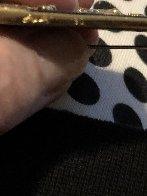 Letter L Brooch 5 in Jewelry by  Erte - 4