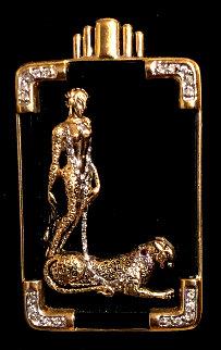 Letter L Brooch 5 in Jewelry by  Erte