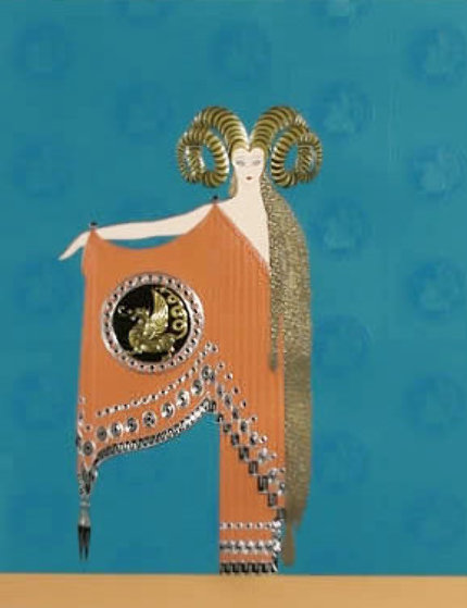 Myth And Magic Suite: Golden Fleece  Limited Edition Print by  Erte