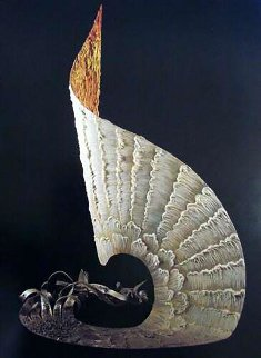 Freedom Mixed Media Sculpture 1962 25 in Sculpture by  Erte