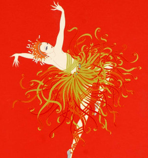 Applause 1981  Limited Edition Print -  Erte
