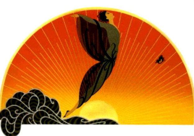 Sunrise 1984 Limited Edition Print by  Erte