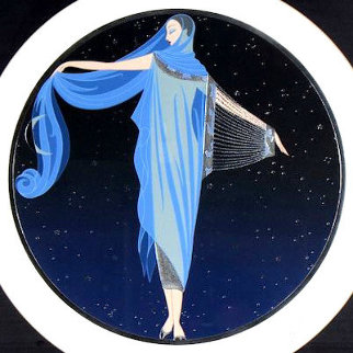 Moonlight 1984 Limited Edition Print by  Erte