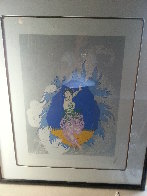 Coming of Spring 1982 Limited Edition Print by  Erte - 3