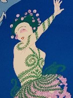 Coming of Spring 1982 Limited Edition Print by  Erte - 7