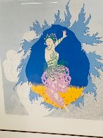 Coming of Spring 1982 Limited Edition Print by  Erte - 5
