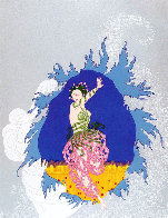 Coming of Spring 1982 Limited Edition Print by  Erte - 4