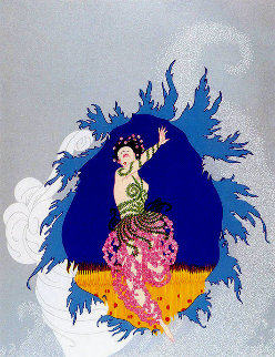 Coming of Spring 1982 Limited Edition Print -  Erte