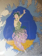 Coming of Spring 1982 Limited Edition Print by  Erte - 6