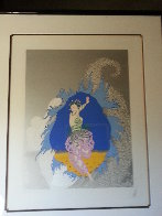 Coming of Spring 1982 Limited Edition Print by  Erte - 2