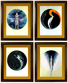 Four Emotions (Suite of 4) 1983 Limited Edition Print -  Erte