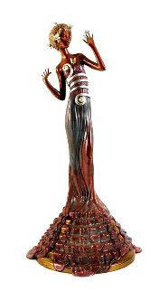 Fantasia Bronze Sculpture 1988 21 in Sculpture -  Erte