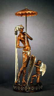 Helen of Troy Bronze Sculpture 1988 22 in Sculpture by  Erte