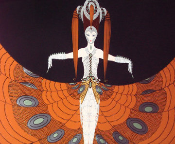Hindu Princess 1987 Limited Edition Print -  Erte