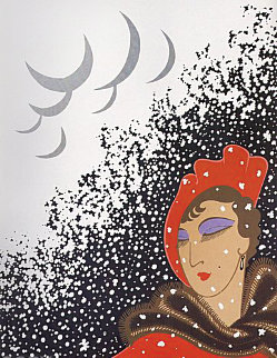 Seasons Suite: Winter 1975 Limited Edition Print -  Erte